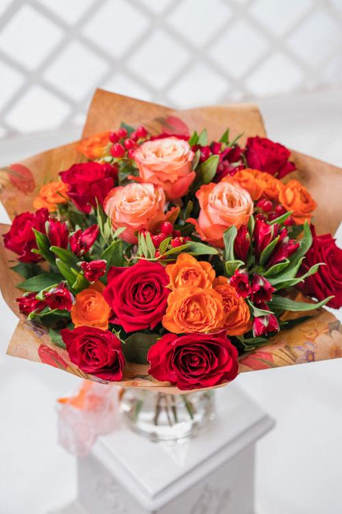 Заказать букет роз в вологде, бывают формы букетов